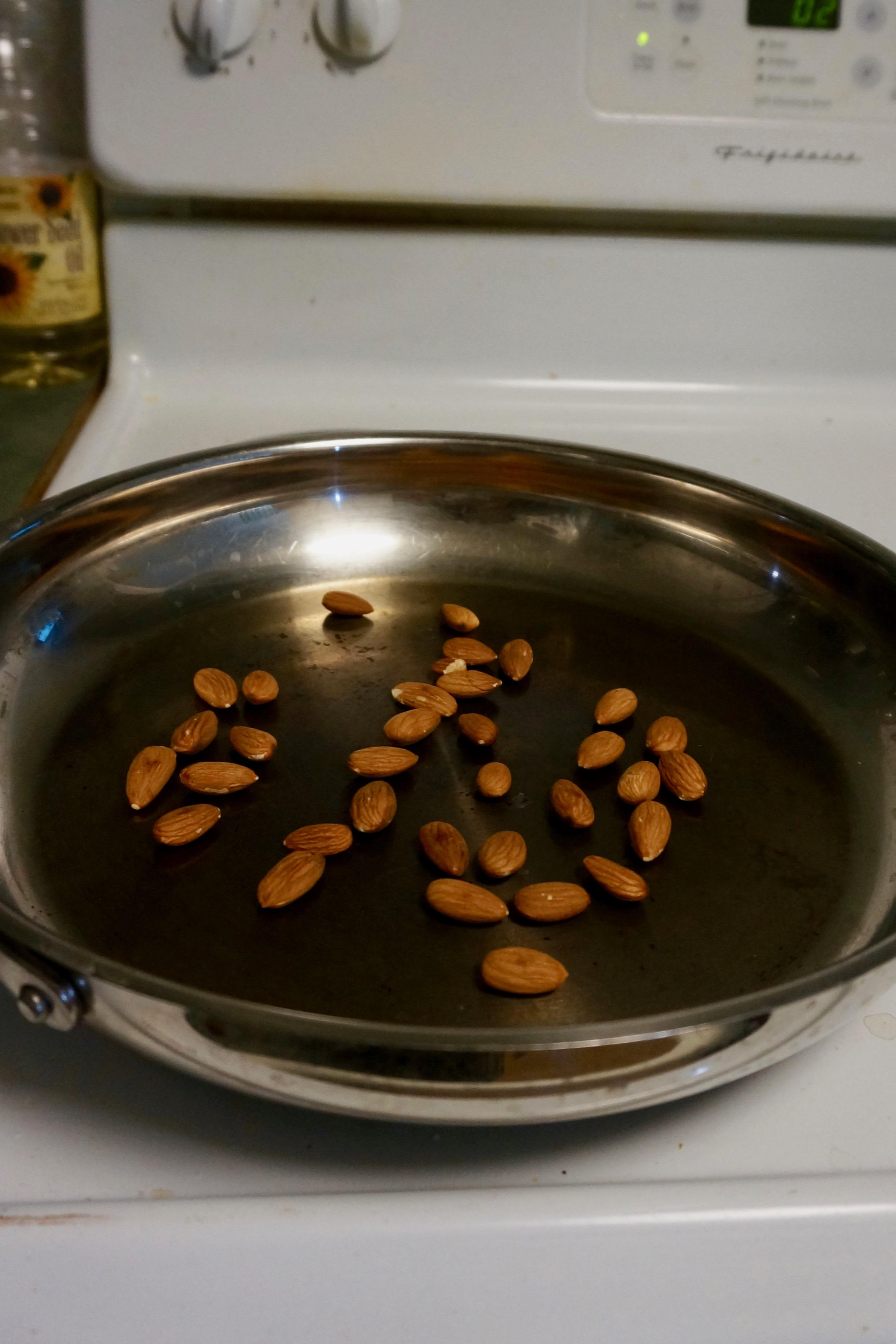 roasting almonds 2